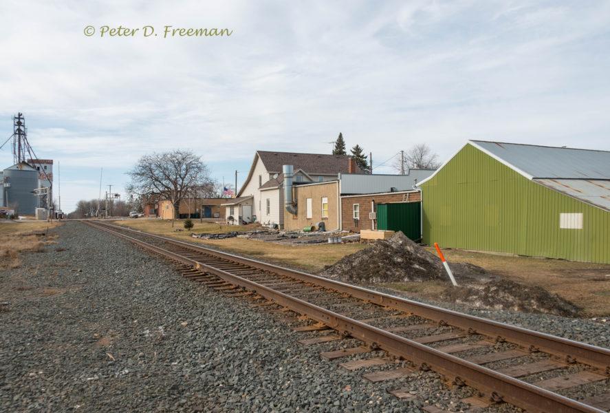 Small Town Rail Line